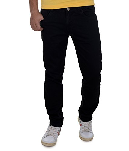 Ben Martin Men's Jeans (BMW-27-BLK-p1-30_Black_30)
