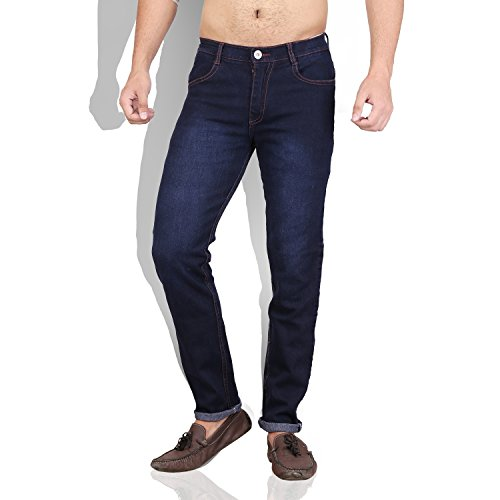 Won 99 Women's Straight Fit Jeans (DBLU01138_Dark Blue)