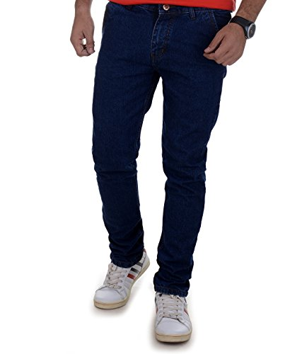 Ben Martin Men's Regular Fit Jeans(BMW-JJ9-DB-P3-32_Blue_32)