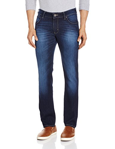 Wrangler Men's Relaxed Fit Jeans (8907222418304_WRJN5958_32W x 33L_Used Indigo)