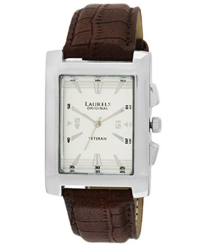 Laurels Imperial 2 Analog Silver Dial Men's Watch ( Lo-Imp-201)