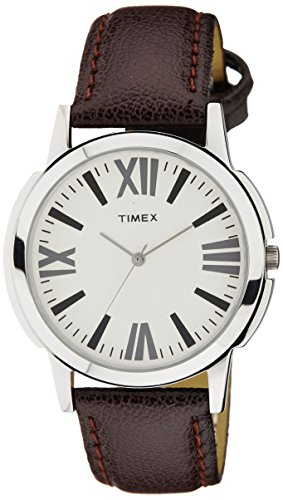 Timex Analog Silver Dial Men's Watch – TW002E101