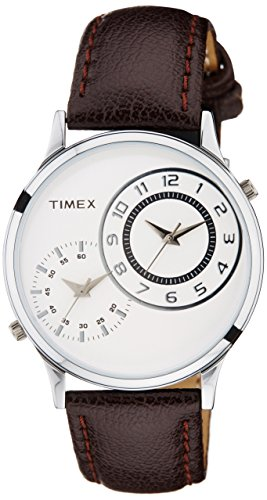 Timex Analog Off-White Dial Men's Watch – TW002E111