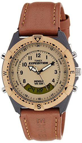 Timex Expedition Analog-Digital Beige Dial Unisex Watch – MF13