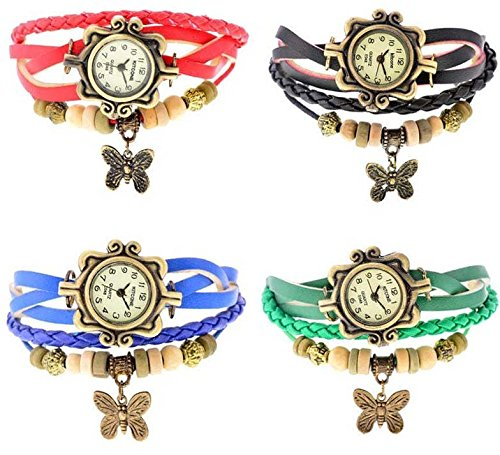 Kitcone Combo Designer Braclet Jwellery Fashion stylish Womens ,girls & Ladies Wrist watches …