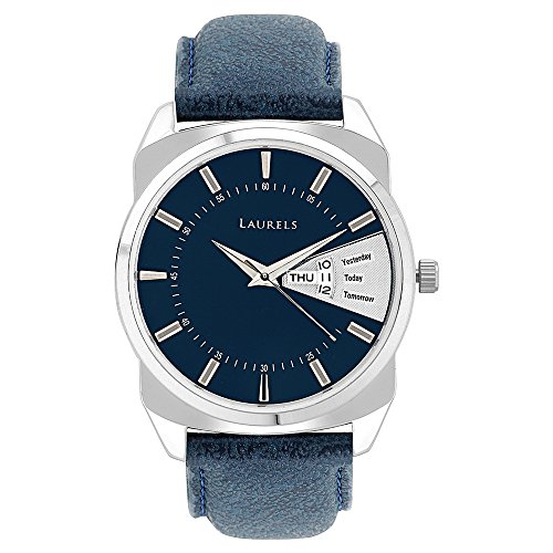 Laurels Analog Blue Dial Men's Watch – Lo-Inc-203