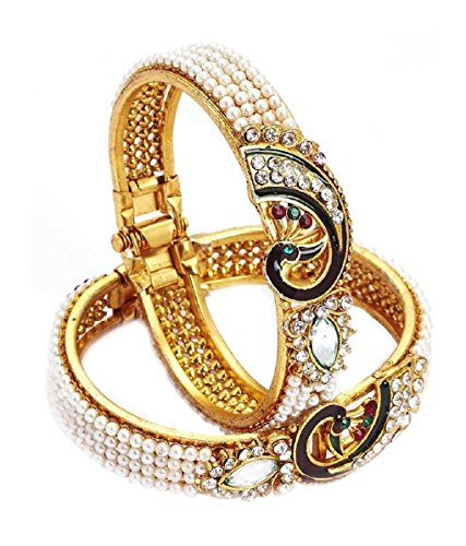 JDX New Fashion 18k Yellow Gold Filled Clear Austrian Crystal Bracelet Bangle Jewelry for Women