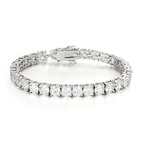 Ananth Jewels Swarovski Zirconia Solitaire Pure Brilliance AAA Luxury Collection Bracelet for Women